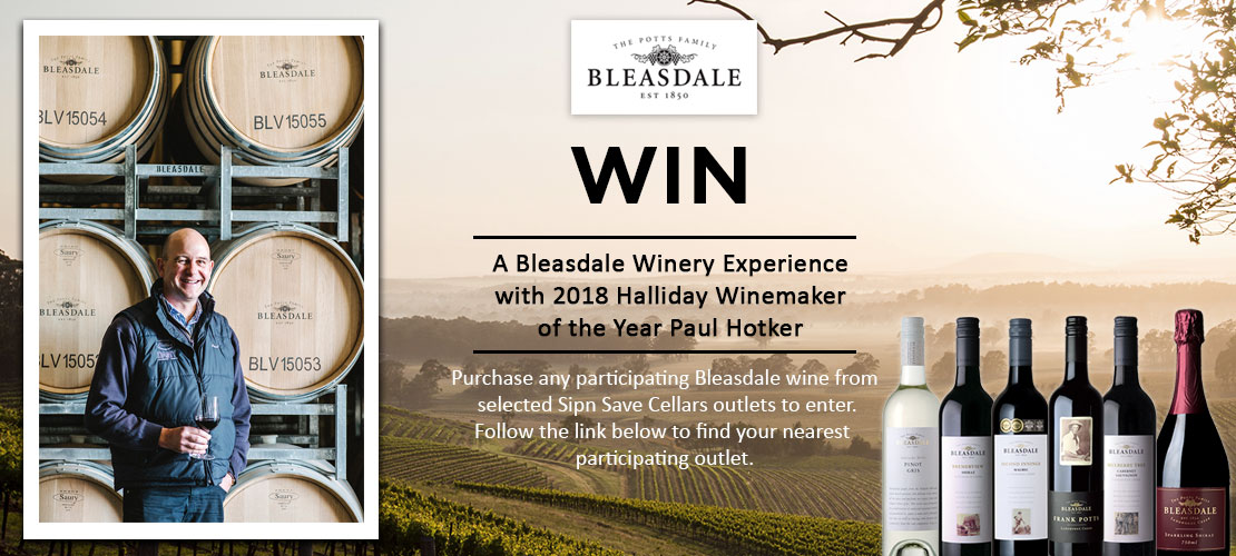 win a bleasdale winery experience sip 39 n save. Black Bedroom Furniture Sets. Home Design Ideas