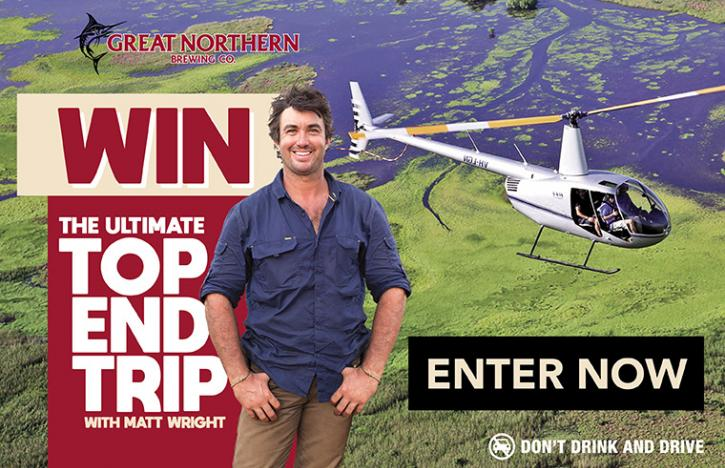 Win the Ultimate Top End Trip with Matt Wright